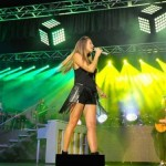 Pulse Lighting providing stage lighting and design for Colbie Caillet