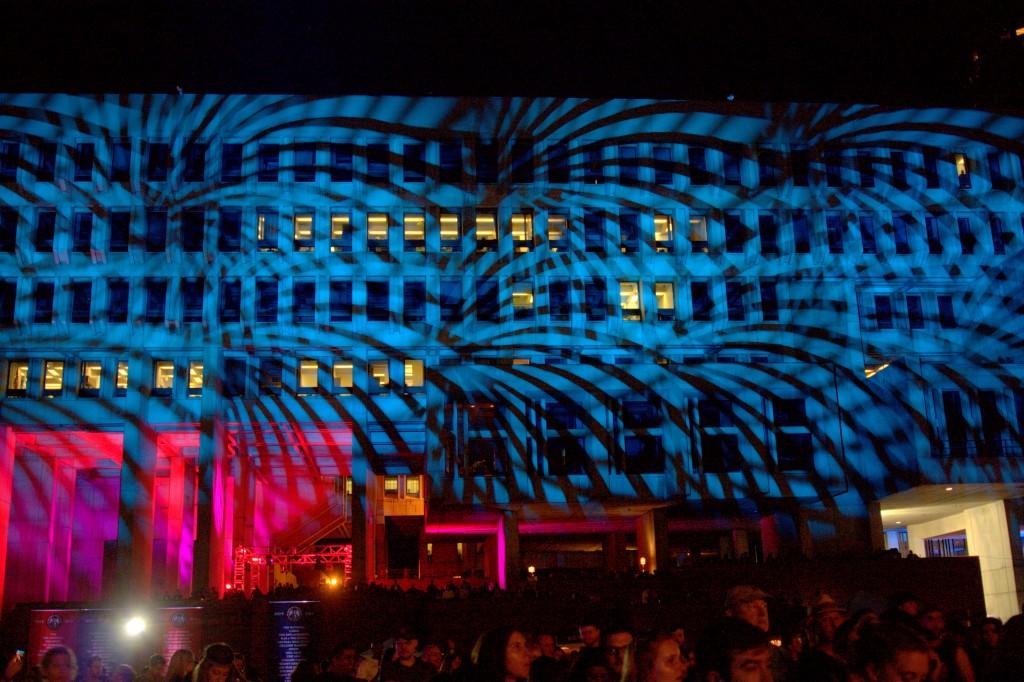 Pulse Lighting at Boston Calling Music Festival Fall 2014