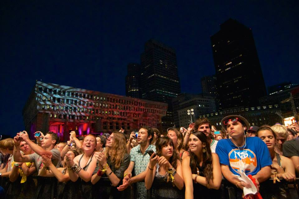 Pulse Lighting @ Boston Calling Music Festival