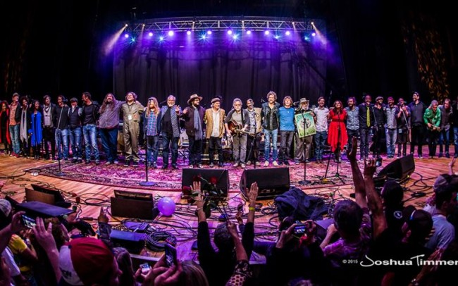 Pulse Lighting Providing Stage Lighting for Dear Jerry Tribute Concert   Photo ©2015 Joshua Timmermans
