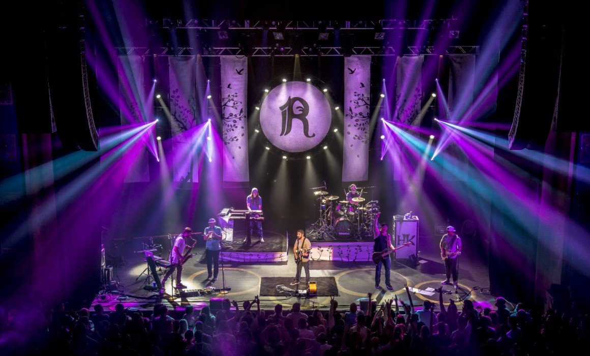 Rebelution | Lighting Design Pulse Lighting | June 8, 2016 | College Street Music Hall, New Haven, CT | Photo ©Sam Deen Productions