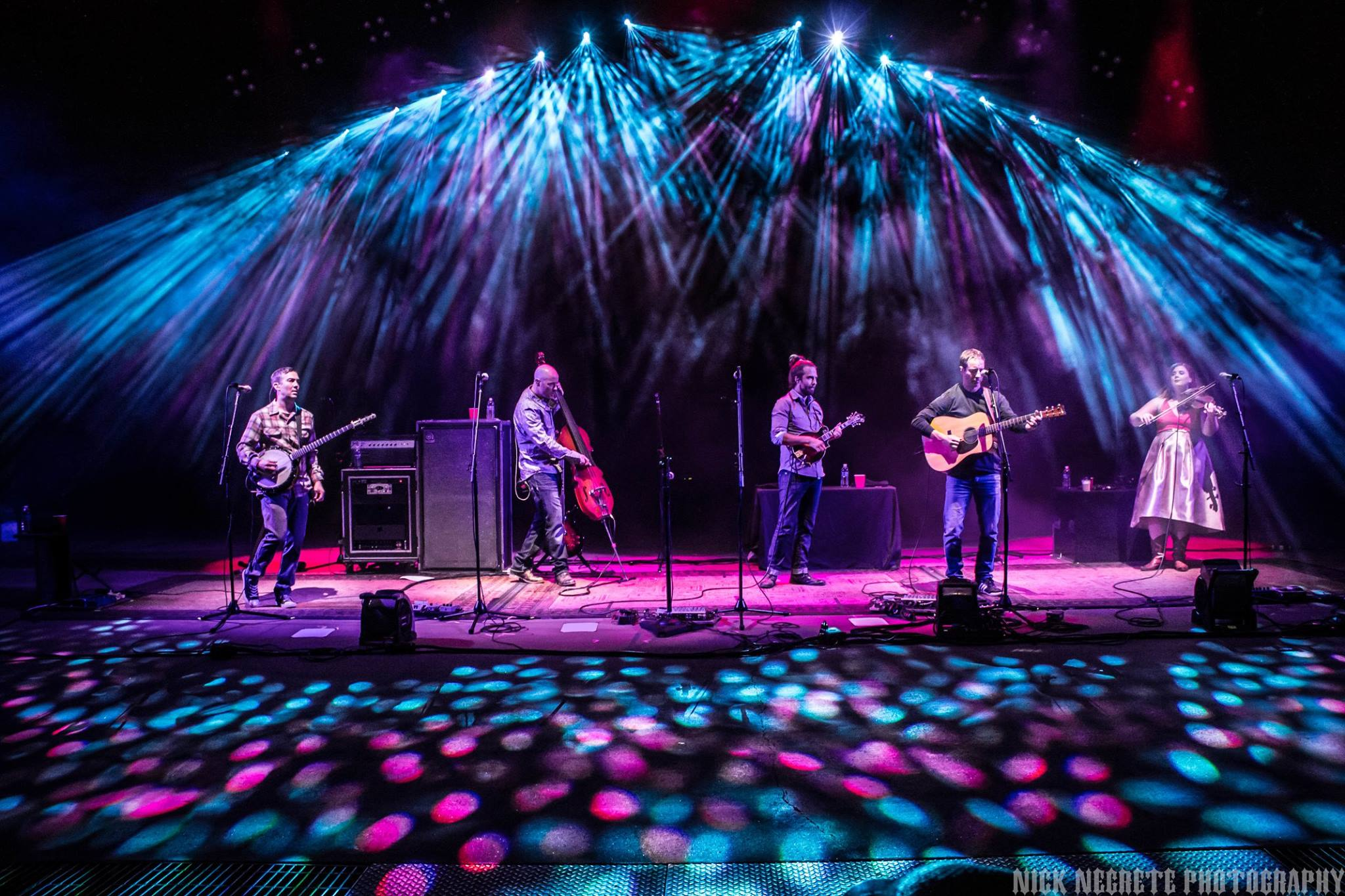 Yonder Mountain String Band | Aug. 20, 2016 · Red Rocks Amphitheatre - Morrison, Co | Lighting by Pulse Lighting | Photo ©2016 Nick Negrete Photography