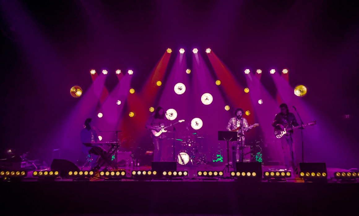 Pulse celebrated the launch of its new facility with the Allen Thompson Band on December 13, 2016. Lighting design by Mikey Cummings.